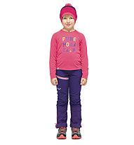 Salewa Puez Baselayer Dry K - maglia a maniche lunghe - bambino, Pink/Blue