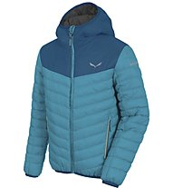 Salewa Puez (Bunny E) PF Kinder-Alpinjacke, Light Blue