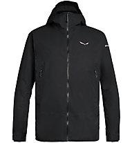 Salewa Puez Clastic 2 PTX 2L M - giacca con cappuccio - uomo, Black