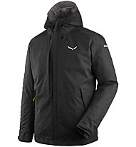 Salewa Puez Clastic PTX 2L - giacca con cappuccio - uomo, Black