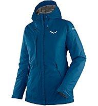 Salewa Puez Clastic PTX 2L - giacca con cappuccio trekking - donna, Blue