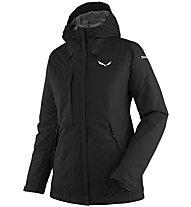Salewa Puez Clastic PTX 2L - giacca con cappuccio trekking - donna, Black