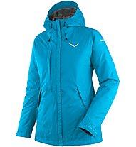 Salewa Puez Clastic PTX 2L - giacca con cappuccio trekking - donna, Light Blue