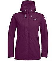 Salewa Puez Clastic PTX 2L - giacca con cappuccio trekking - donna, Violet