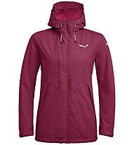 Salewa Puez Clastic PTX 2L - giacca con cappuccio trekking - donna, Dark Pink