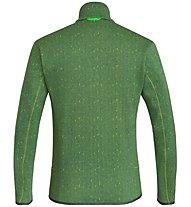 Salewa Puez Clastic Zip-In Pl - giacca in pile - uomo, Green
