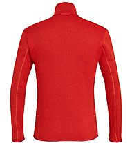 Salewa Puez Clastic Zip-In Pl - giacca in pile - uomo, Red
