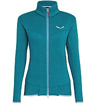 Salewa Puez Clastic Zip-In Pl W Fz - giacca in pile - donna, Blue