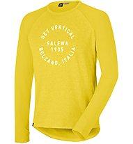 Salewa Puez Dry - Wandershirt Langarm - Herren, Yellow