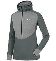 Salewa Puez Dry - Pullover mit Reißverschluss Trekking - Damen, Grey