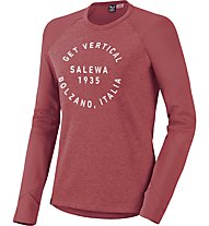 Salewa Puez Dry - Wandershirt Wandern - Damen, Red