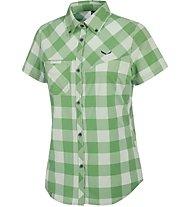 Salewa Puez Dry - Wanderbluse Kurzarm - Damen, Green