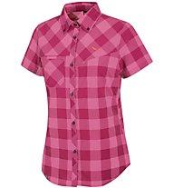 Salewa Puez Dry - Wanderbluse Kurzarm - Damen, Pink