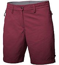 Salewa Puez Dry - pantaloni corti trekking - donna, Dark Red