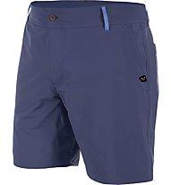 Salewa Puez DST M Shorts Pantaloni corti trekking, Blue