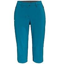 Salewa Puez DST 3/4 - pantaloni corti trekking - donna, Light Blue
