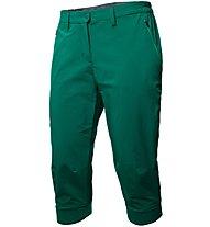 Salewa Puez DST 3/4 - pantaloni corti trekking - donna, Green