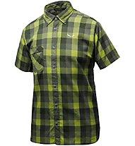 Salewa Puez Ecoya Dry - Wander- und Trekkinghemd - Herren, Green