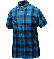 Salewa Puez Ecoya Dry - Wander- und Trekkinghemd - Herren, Blue