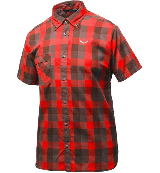 SALEWA Herren Hemd Kurzarm PUEZ DRY Shirt: : Bekleidung