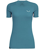 Salewa Puez Graphic 2 Dry S/S Tee - Wandershirt - Frauen, Light Blue