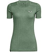 Salewa Puez Graphic 2 Dry - T-shirt trekking - donna, Green