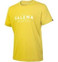 Salewa Puez Graphic Dry - Kurzarm-Shirt Bergsport - Herren, Yellow