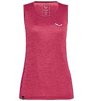 Salewa Puez Graphik Dry - Trägershirt Bergsport - Damen, Red