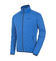 Salewa Puez Grid PL - giacca in pile uomo, Royal Blue