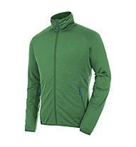 Salewa Puez Grid PL - giacca in pile uomo, Highland Green