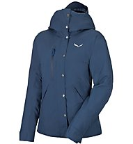 Salewa Puez GTX Thermium/Prl W Parka Damen Winter Outdoorjacke, Blue