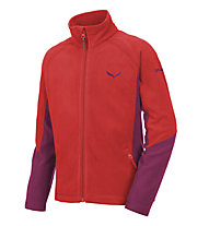 Salewa Puez (Handle) PL K Full Zip Kinder-Fleecejacke, Red