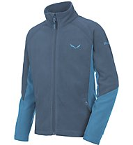 Salewa Puez (Handle) PL K Full Zip Kinder-Fleecejacke, Blue