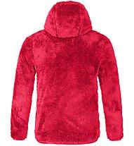 Salewa Puez Highloft Pl - giacca in pile con cappuccio - bambino, Pink/Orange