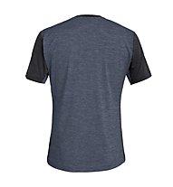 Salewa Puez Hybrid 2 Dry - T-Shirt Trekking - Herren, Ombre Blue