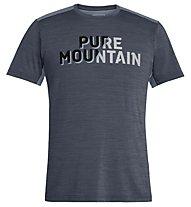 Salewa Puez Hybrid 2 Dry - T-Shirt Trekking - Herren, Grey