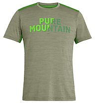 Salewa Puez Hybrid 2 Dry - T-Shirt Trekking - Herren, Kombu Green