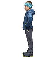 Salewa Puez Hybrid Awp - giacca con cappuccio - bambino, Blue/Yellow
