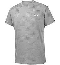 Salewa Puez Hybrid Dry - Kurzarm-Shirt Wandern - Herren, Grey