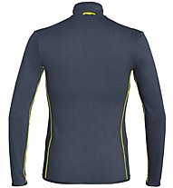 Salewa Puez Hybrid PL - Fleecejacke Trekking - Herren, Dark Blue/Yellow