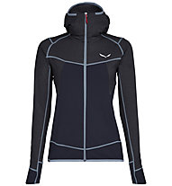 Salewa Puez Hybrid - Fleecejacke mit Kapuze Trekking - Damen, Dark Blue/Light Blue