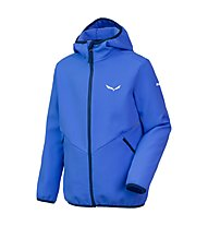 Salewa Puez Laurin 2 - Fleecejacke mit Kapuze - Kinder, Light Blue