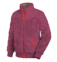 Salewa Giacca in pile Puez (Laurin) PL K Full-zip, Red Onion