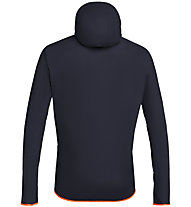 Salewa Puez Light Ptx - Kapuzenjacke Bergsport - Herren, Dark Blue/Orange