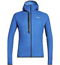 Salewa Puez Light Ptx - giacca softshell - uomo, Light Blue/Black