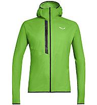 Salewa Puez Light Ptx - giacca softshell - uomo, Green/Black