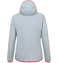 Salewa Puez Light PTX - giacca softshell - donna, Light Blue/Red