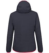 Salewa Puez Light PTX - giacca softshell - donna, Dark Blue/Red