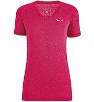 Salewa Puez Mel Dry - T-shirt - donna, Pink