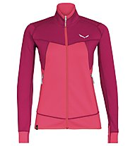 Salewa Puez Melange - Fleecejacke Trekking - Damen, Red